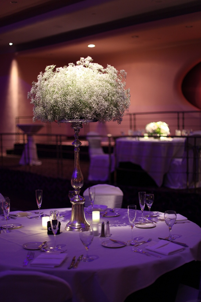 Centerpiece Table Lighting Rental Toronto