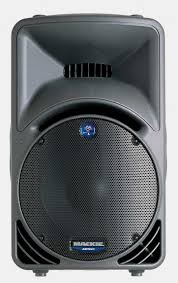 DJ Speaker Rental - Mackie SRM450 Front