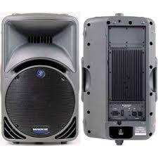 DJ Speaker Rental - Mackie SRM450