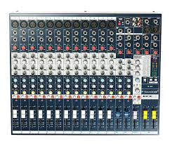 Rent Live Sound Mixer Toronto - Soundcraft EFX12