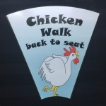 Wedding Game Rental - Chicken Walk Back To Seat
