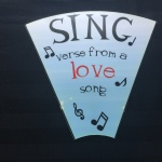 Wedding Game Rental - Sing Verse From A Love Song