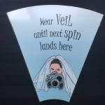 Wedding Game Rental - Wear Veil Until Next Spin Lands here